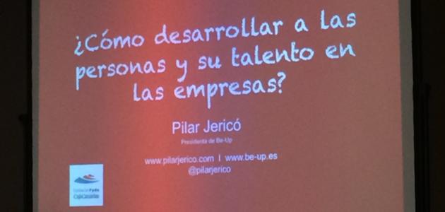 Conferencia de Pilar Jericó sobre el talento y las personas en las empresas, organizada por la Fundación FYDE Cajacanarias - mprende.es