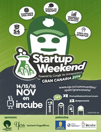 cartel_gran_canaria_startup_weekend_2014