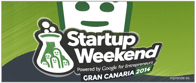 Emprender en el Gran Canaria Startup Weekend 2014 - mprende.es